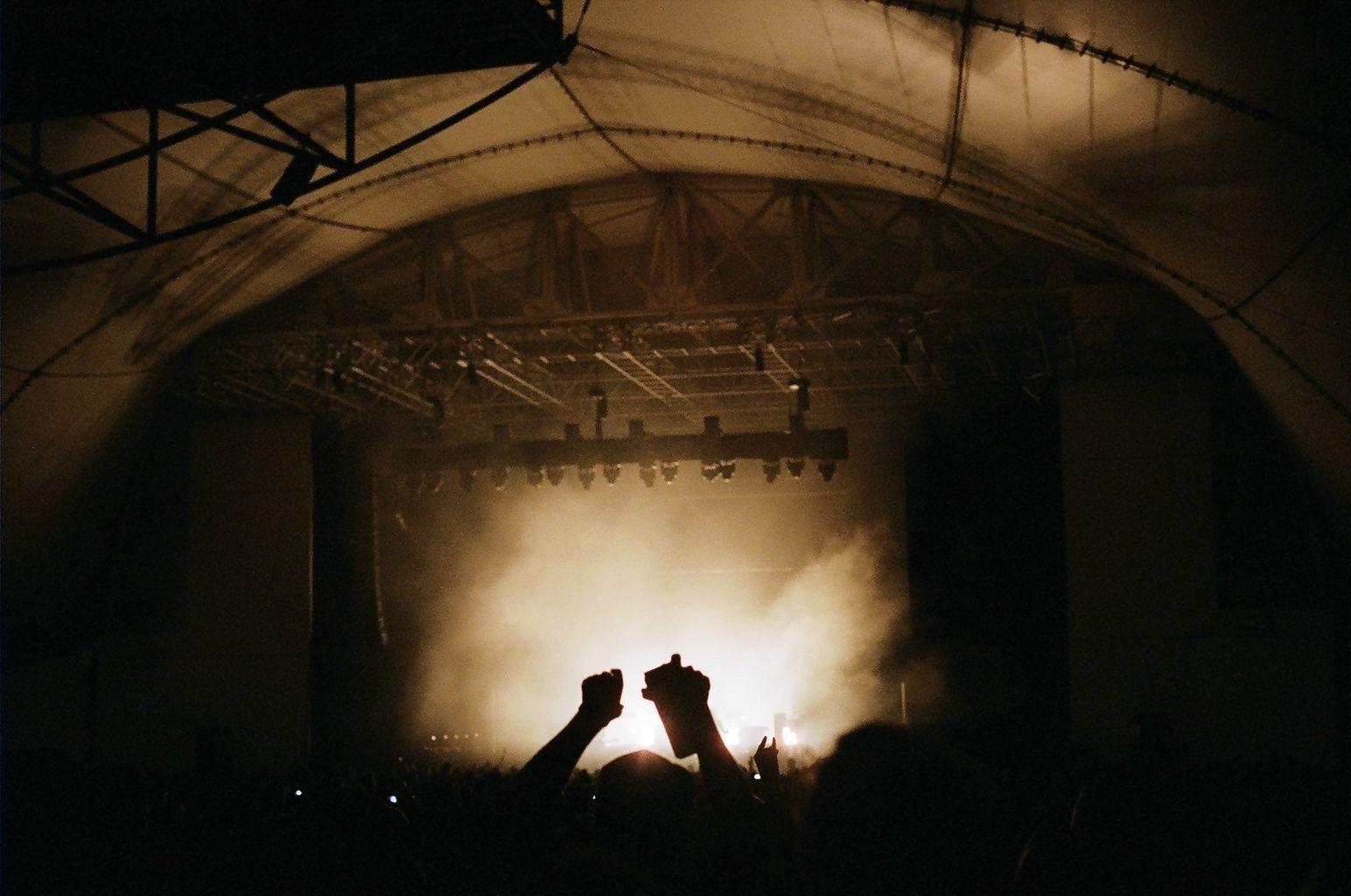 Concert venue outdoors