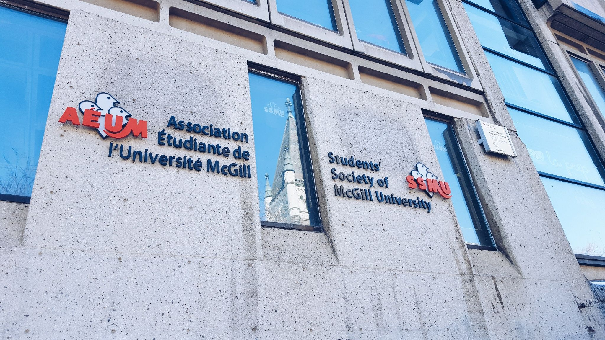 McGill SSMU building
