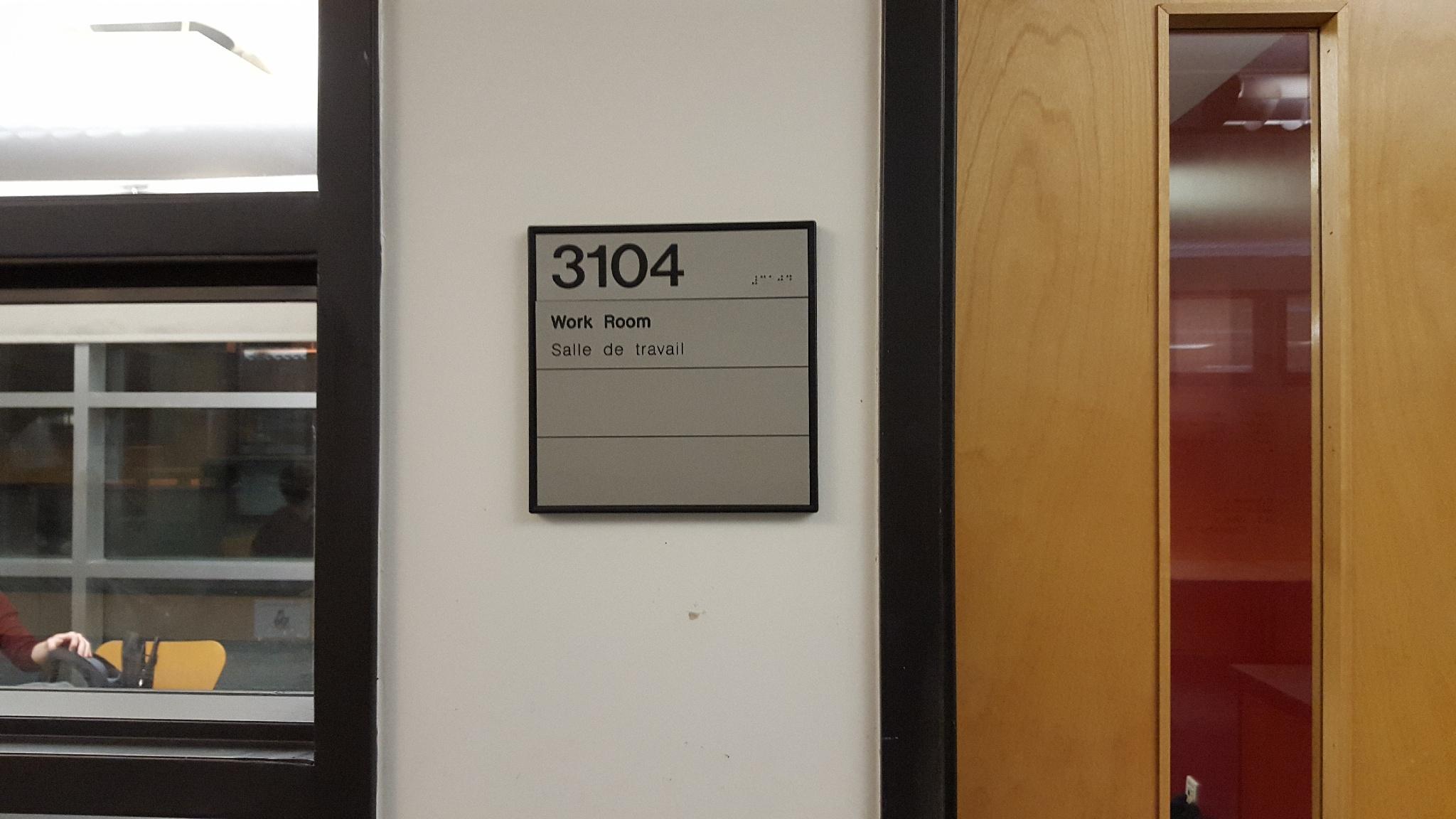 McGill University classroom