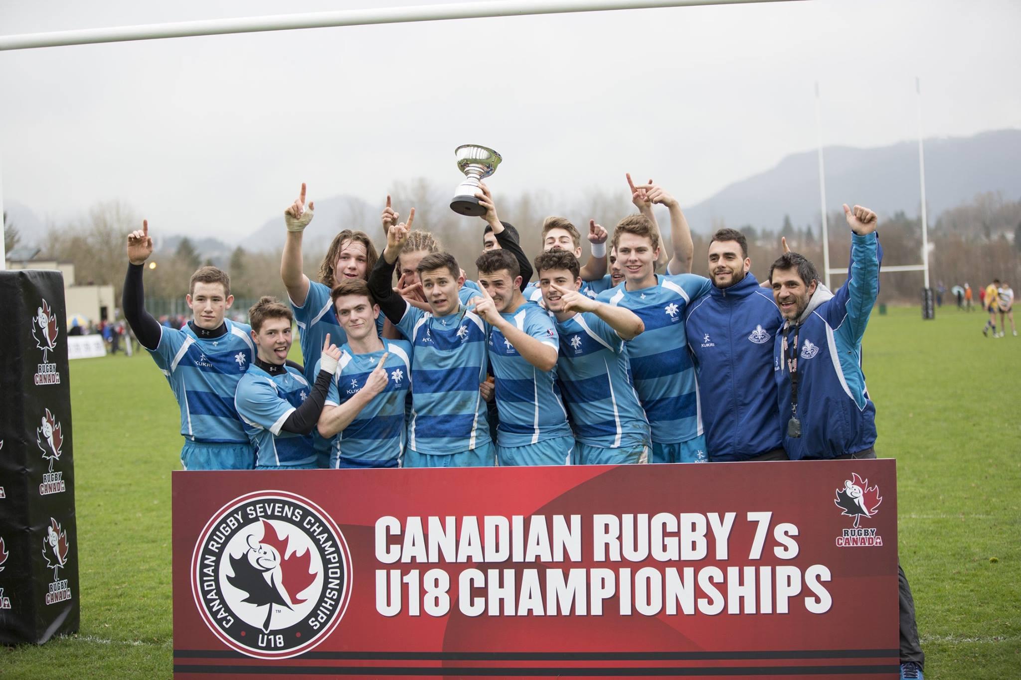 Rugby Canada wining men team